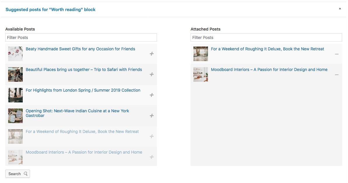 WordPress theme Documentation