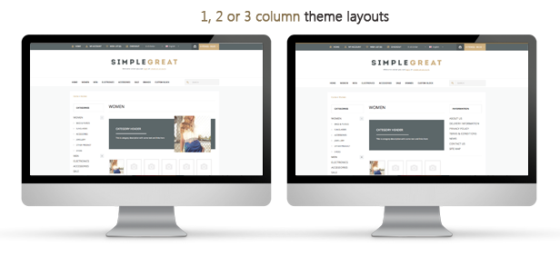 SimpleGreat – Premium Responsive OpenCart theme! - 16 SimpleGreat – Premium Responsive OpenCart theme! Nulled Free Download features3 2
