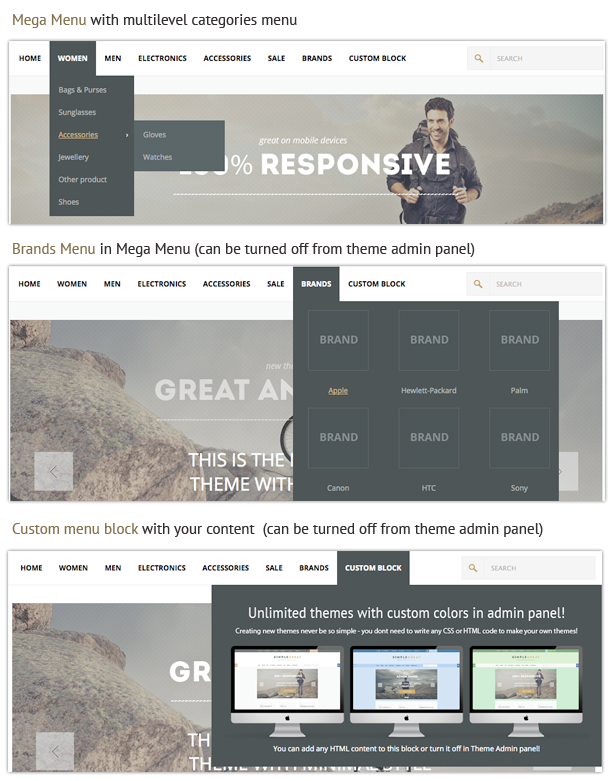 SimpleGreat – Premium Responsive OpenCart theme! - 19 SimpleGreat – Premium Responsive OpenCart theme! Nulled Free Download features4 0