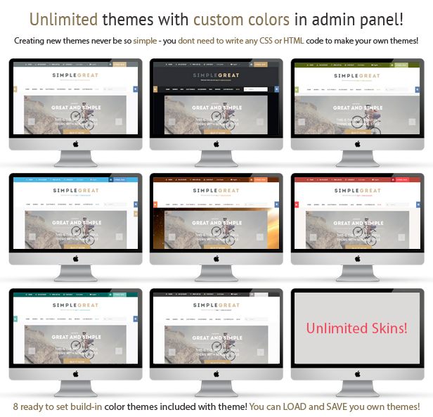 SimpleGreat – Premium Responsive OpenCart theme! - 10 SimpleGreat – Premium Responsive OpenCart theme! Nulled Free Download features5